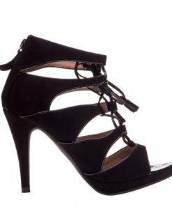 Sandale dama Chavez negre - Incaltaminte Dama - Sandale Dama