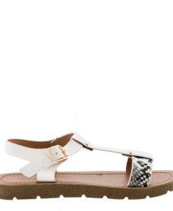Sandale dama Cierra albe - Incaltaminte Dama - Sandale Dama