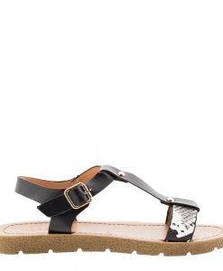 Sandale dama Cierra negre - Incaltaminte Dama - Sandale Dama