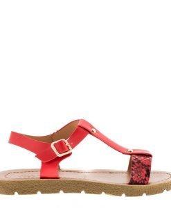 Sandale dama Cierra rosii - Incaltaminte Dama - Sandale Dama