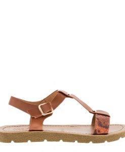 Sandale dama Cierra tan - Incaltaminte Dama - Sandale Dama
