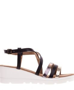 Sandale dama Cisneros negre - Incaltaminte Dama - Sandale Dama