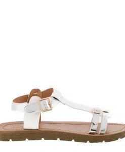 Sandale dama Cotton albe - Incaltaminte Dama - Sandale Dama