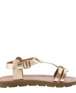 Sandale dama Cotton bej - Incaltaminte Dama - Sandale Dama
