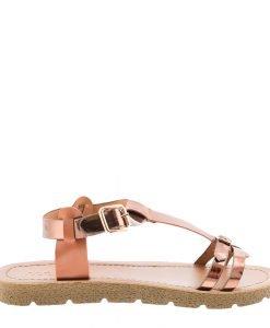 Sandale dama Cotton tan - Incaltaminte Dama - Sandale Dama