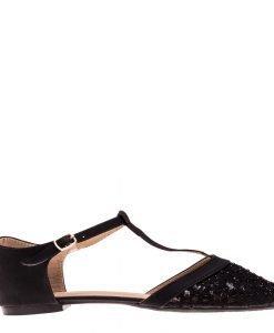 Sandale dama Covas negre - Incaltaminte Dama - Sandale Dama