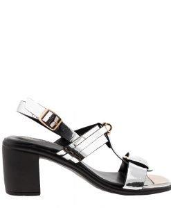 Sandale dama Dakota argintii - Incaltaminte Dama - Sandale Dama