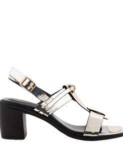 Sandale dama Dakota aurii - Incaltaminte Dama - Sandale Dama