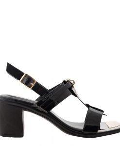 Sandale dama Dakota negre - Incaltaminte Dama - Sandale Dama