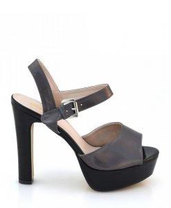 Sandale dama Helena negre - Promotii - Lichidare Stoc