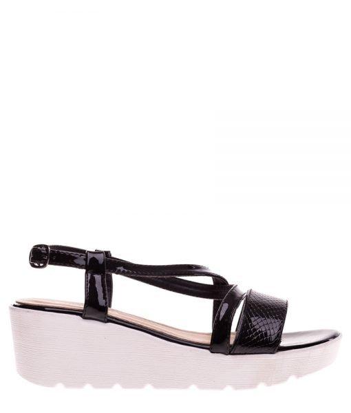 Sandale dama Hidalgo negre – Incaltaminte Dama – Sandale Dama
