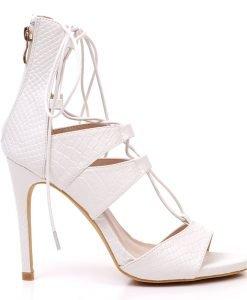 Sandale dama Vilma albe - Incaltaminte Dama - Promotii Dama