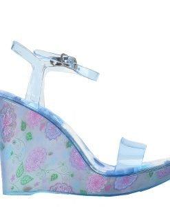 Sandale dama cu platforma Goul albastre - Incaltaminte Dama - Sandale Dama