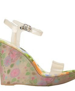 Sandale dama cu platforma Goul bej - Incaltaminte Dama - Sandale Dama
