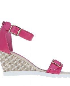 Sandale dama cu platforma Rylee fucsia - Incaltaminte Dama - Sandale Dama