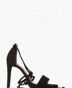 Sandale elegante din piele intoarsa naturala CB047 - Sandale -