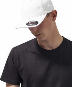 Sapca Flexfit Caciula Garment Washed bumbac Dad alb - Sepci Flexfit - Flexfit>Sepci Flexfit