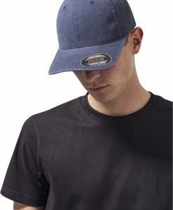 Sapca Flexfit Caciula Garment Washed bumbac Dad bleumarin - Sepci Flexfit - Flexfit>Sepci Flexfit