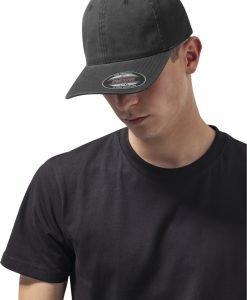Sapca Flexfit Caciula Garment Washed bumbac Dad negru - Sepci Flexfit - Flexfit>Sepci Flexfit