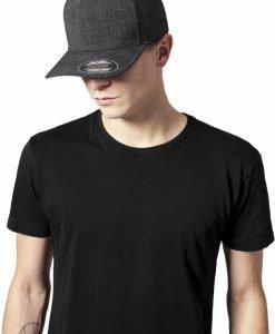 Sapca Melange Flexfit Fine negru - Sepci Flexfit - Flexfit>Sepci Flexfit