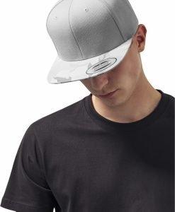 Sapca Visor Snapback Camo argintiu-camuflaj Flexfit - Sepci snapback - Flexfit>Sepci snapback