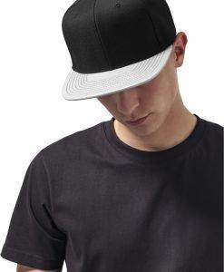 Sapca Visor Snapback Metallic argintiu Flexfit - Sepci snapback - Flexfit>Sepci snapback