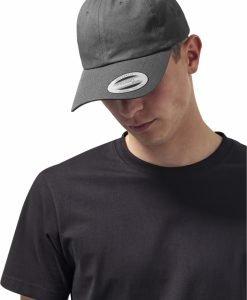Sepci Low Profile Cotton Twill gri inchis Flexfit - Flexfit - Flexfit