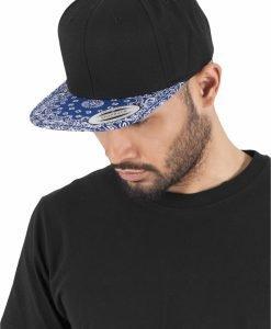 Sepci hip hop Snapback Bandana negru Flexfit - Sepci snapback - Flexfit>Sepci snapback