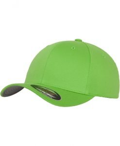 Sepci originale Flexfit Wooly Combed verde lime - Lichidare - Urban Classics>Lichidare