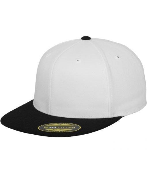 Sepci rap Premium 210 Fitted doua culori alb-negru Flexfit – Sepci 210 FITTED – Flexfit>Sepci 210 FITTED