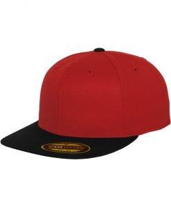 Sepci rap Premium 210 Fitted doua culori rosu-negru Flexfit - Sepci 210 FITTED - Flexfit>Sepci 210 FITTED