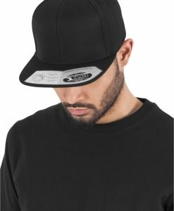 Sepci rap Snapback 110 Fitted negru Flexfit - Sepci 110 - Flexfit>Sepci 110