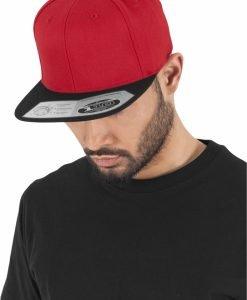 Sepci rap Snapback 110 Fitted rosu-negru Flexfit - Sepci 110 - Flexfit>Sepci 110