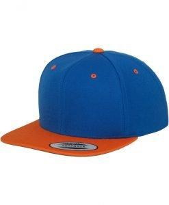 Sepci rap Snapback Classic 2-Tone albastru roial-portocaliu Flexfit - Sepci snapback - Flexfit>Sepci snapback
