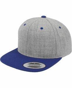 Sepci rap Snapback Classic 2-Tone gri deschis-albastru roial Flexfit - Sepci snapback - Flexfit>Sepci snapback