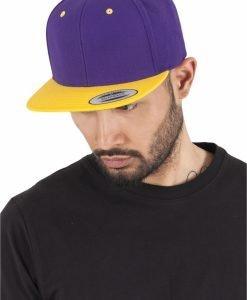 Sepci rap Snapback Classic 2-Tone mov-auriu Flexfit - Sepci snapback - Flexfit>Sepci snapback