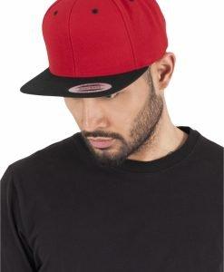 Sepci rap Snapback Classic 2-Tone rosu-negru Flexfit - Sepci snapback - Flexfit>Sepci snapback