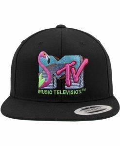 Sepci rap Snapback MTV Quilt negru Merchcode - Sepci snapback - Flexfit>Sepci snapback