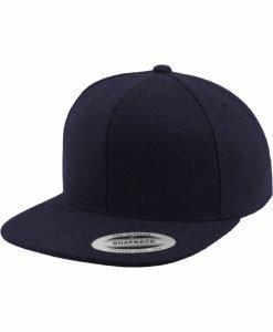 Sepci rap Snapback Melton Wool bleumarin Flexfit - Sepci snapback - Flexfit>Sepci snapback