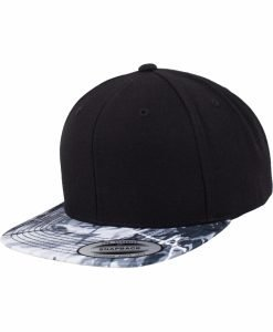 Sepci rap Snapback Oil Paint negru-gri deschis Flexfit - Sepci snapback - Flexfit>Sepci snapback