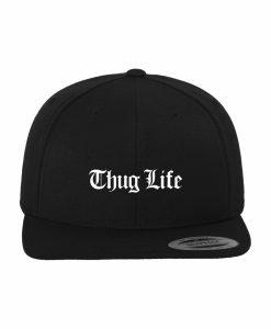 Sepci rap Snapback Thug Life Old English negru - Sepci snapback - Flexfit>Sepci snapback