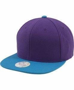 Sepci rap Snapback Two Tone mov-albastru aqua Flexfit - Lichidare - Urban Classics>Lichidare