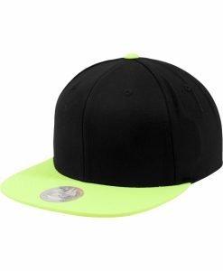 Sepci rap Snapback Two Tone negru-galben neon Flexfit - Lichidare - Urban Classics>Lichidare
