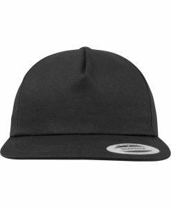 Sepci rap Snapback Unstructured 5-Panel negru Flexfit - Sepci snapback - Flexfit>Sepci snapback