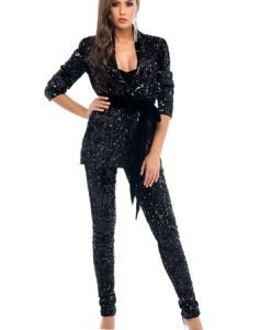 Set Ana Radu Twisted Party Black - Seturi din 2 piese -
