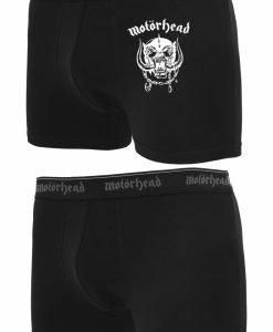 Set Motorhead Logo Boxershort negru Merchcode - Lenjerie - Urban Classics>Accesorii>Lenjerie
