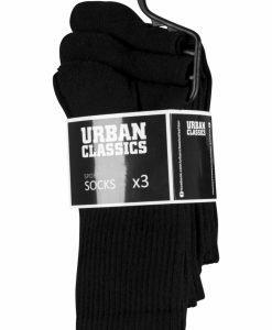 Set Sosete Sport 3- negru Urban Classics - Lenjerie - Urban Classics>Accesorii>Lenjerie