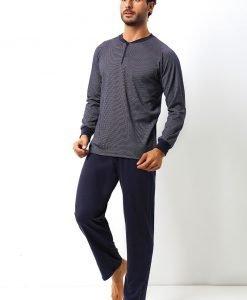 Set barbatesc Dante din bumbac - bluza pantalon - Promotii - Promotiile saptamanii