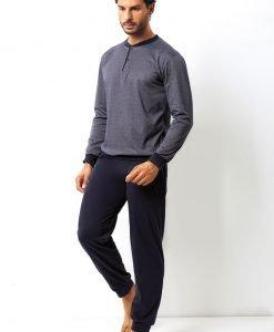 Set barbatesc Domenico din bumbac - bluza pantalon - Promotii - Promotiile saptamanii