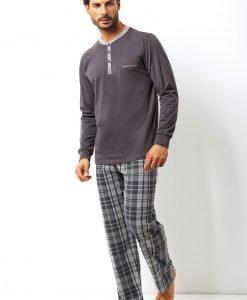 Set barbatesc Placido din bumbac - bluza pantalon - Promotii - Promotiile saptamanii
